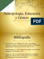 Antropologia,Genero y Escuela