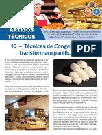 Artigo Técnico 10 - Técnicas de Congelamento Transformam Indústria de Panificação