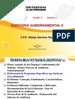 Auditoría Gubernamental II - Semana 02