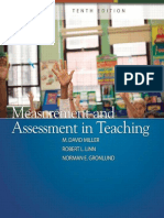 2009 Measurement and Assessment in Teaching [M. David Miller, Robert L. Linn, Norman E. Gronlund