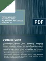 Pengendalian Internal Atas Pelaporan Keuangan