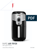 DASH Air Fryer Manual