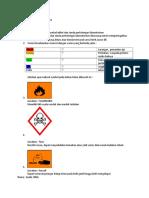 Soal Simbol,Etiket Dan Tanda Bahaya