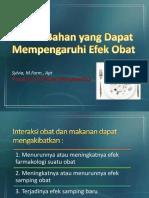 3. Bahan-Bahan yang Dapat Mempengaruhi Efek Obat.pptx