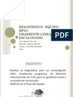 Diagnostico Equipo HPLC