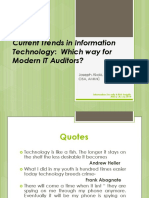 Current Trend in Information Technology_ Which way IT Auditor.pdf