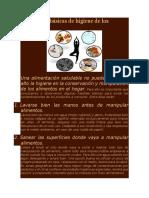 Medidas Básicas de Higiene de Los Alimentos