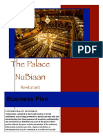 Sample Restaurant Business Plan
