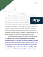 narrative essay standard 3
