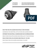 Brevini Installation Maintenance Manual Industrial Slewing Applications