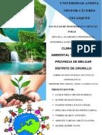 Impacto y Riesgo Ambiental Del Distrito de Orurillo - PUNO