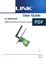 Guía de uso Tl-wn781nd v2 Ug