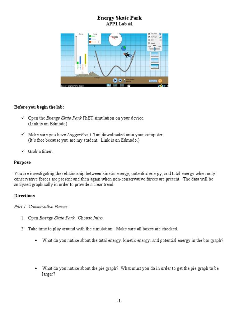 Physics Stuff Kinetic Energy Potential Energy