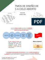 ALGORITMOS DE DISEÑO DE MINAS A CIELO ABIERTO.pptx