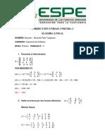 Corrección Unidad 1 Prueba 2