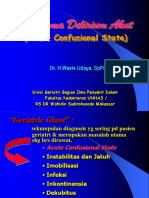 Kuliah Acute Confusional State