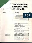 Municipal Engineers Journal Fall 1983, Vol 69