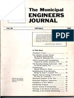 Municipal Engineers Journal Fall 1983, Vol 69
