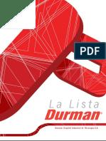 Durman Nicaragua Catalogo