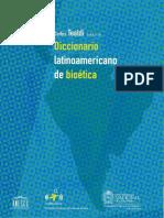 Diccionario Bioetica