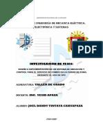Investigacion de Tesis 2017