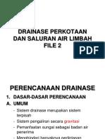 DRAINASE PERKOTAAN-2