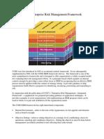 Co So Enterprise Risk Management Framework