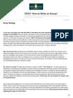 Iasbaba.com-UPSC ESSAY STRATEGY How to Write an Essay