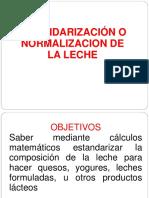1 Estandarizacion Normalizacion de La Leche