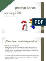 1 Cómo Generar Ideas de Negocio v3 (Short)-1509066718