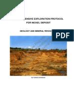 Nickel Comprehensive Exploration Protocol