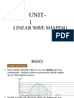 Linear Wave Shaping