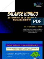 Exposicion Balance Hidrico