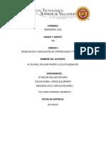 Modelación y Simulación de Procesos