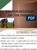 Transportation of the Injured