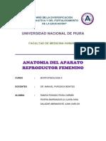 Anatomia Aparato Reproductor Femenino