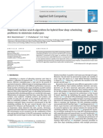 Improved Cuckoo Search Algorithm for Hybrid Flow Shop Sch 2014 Applied Soft