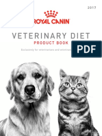 2017 Royal Canin  Vet Product Guide
