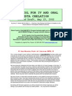 EDTA IV and Oral Chelation Protocol