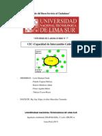 INFORME CAPACIDAD DE INTERCAMBIO CATIONICO (CIC) - EDAFOLOGIA