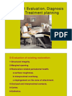 Patient Evaluation, Diagnosis and Treatment Planning - Copy