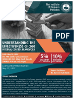 Understanding the Effectiveness of COSO Internal Control Framework