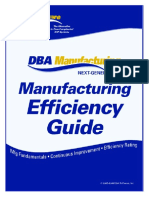 Good Manufacturing Efficiency Guide