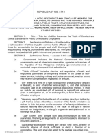Code of Conduct and Ethical Standards For Lawyers