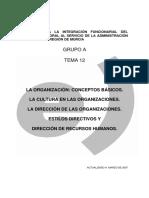 90744-Tema 12.La Organización.conceptos