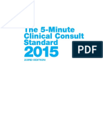 (the 5-Minute Consult Series) Frank J. Domino Et Al. (Eds.)-The 5-Minute Clinical Consult Standard 2015-Wolters Kluwer, LWW (2014)