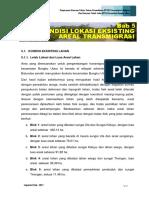 LAPFINAL-RTSP-RTJ - Bab 5 -Kondisi Lokasi Eksisting Areal Rencana Transmigrasi