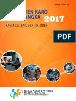 Kabupaten Karo Dalam Angka 2017
