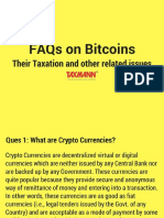 FAQs on Bitcoins