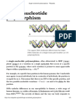 Single-nucleotide Polymorphism